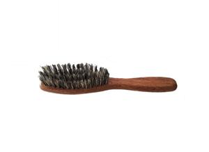 cepillo Fade cerda gris.
